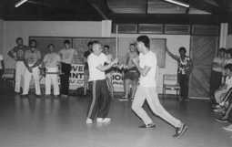 Henry Jayme and Teofilo Velez demonstration in 1987